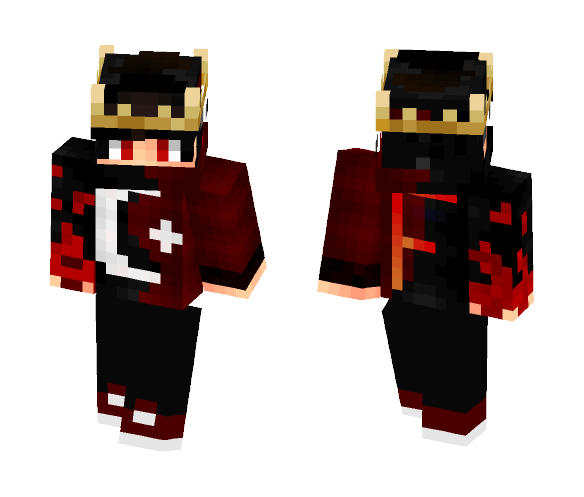 Crowned Prince - Male Minecraft Skins - image 1