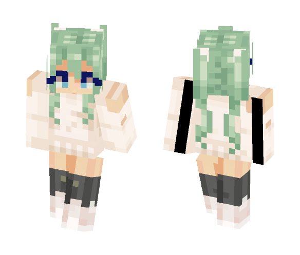 Minty - Female Minecraft Skins - image 1