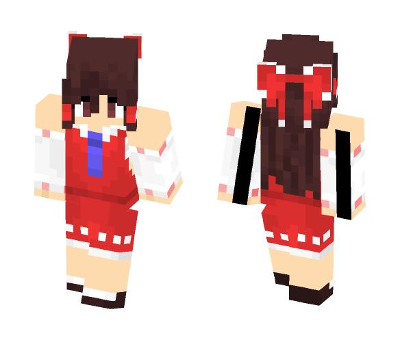 Reimu Hakurei (Touhou) - Female Minecraft Skins - image 1
