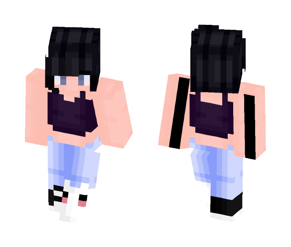 don't the tears just pour - Female Minecraft Skins - image 1