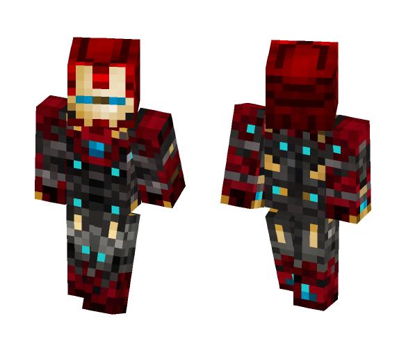 Iron Man Mk47 - Homecoming - Iron Man Minecraft Skins - image 1