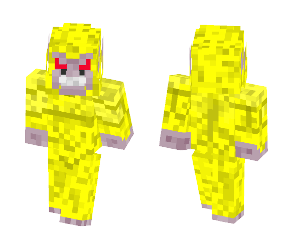 Golden Oozaru - Male Minecraft Skins - image 1