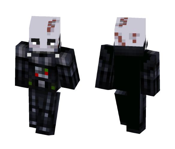 Darth Vader (No helmet) - Male Minecraft Skins - image 1