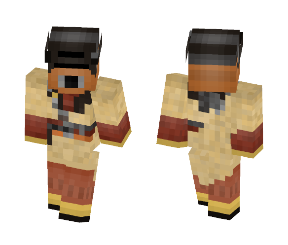 Boushh (Princess Leia) - Female Minecraft Skins - image 1