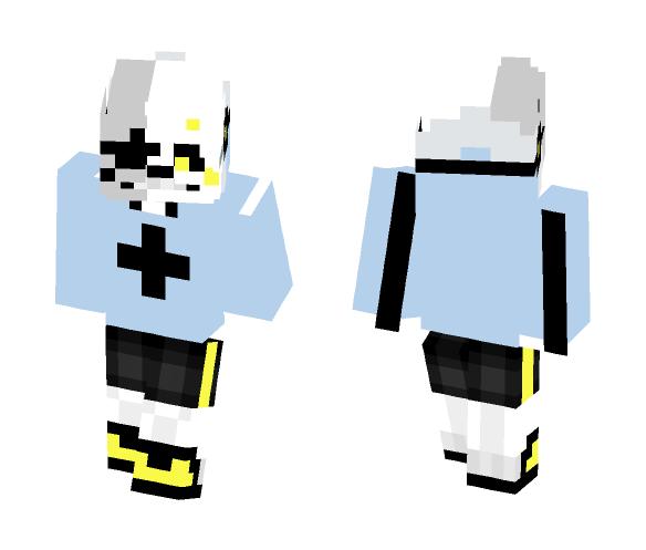 Aster!Sans - Male Minecraft Skins - image 1