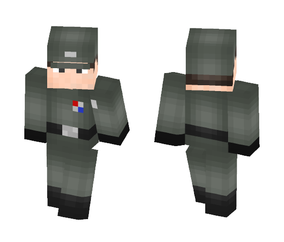 Imperial officer - Male Minecraft Skins - image 1