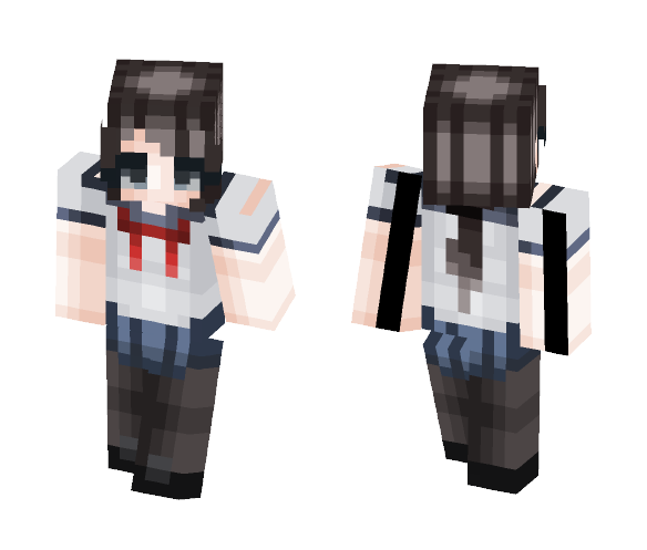 ♡ Ayano Aishi ♡ - Female Minecraft Skins - image 1