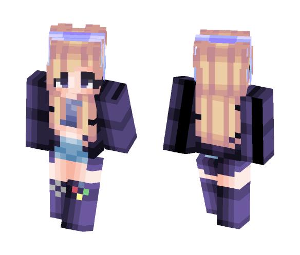 ♡ Gamer Gal ♡ - Female Minecraft Skins - image 1