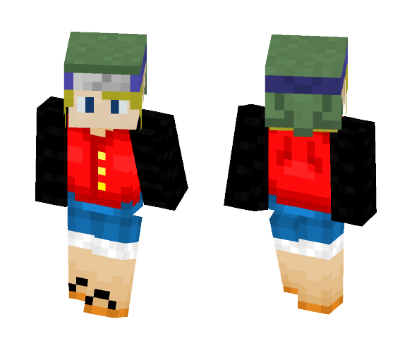 Link/Naruto/Luffy - Male Minecraft Skins - image 1