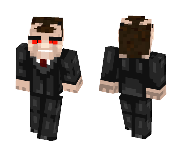 D.Evil-Devil Attorney at law - Male Minecraft Skins - image 1