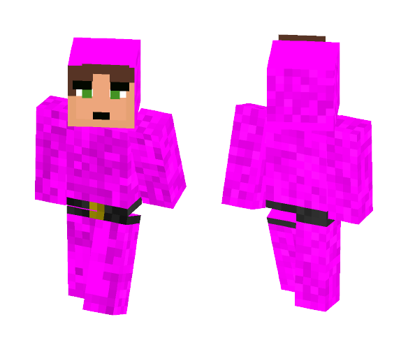 Pink Guy - Male Minecraft Skins - image 1