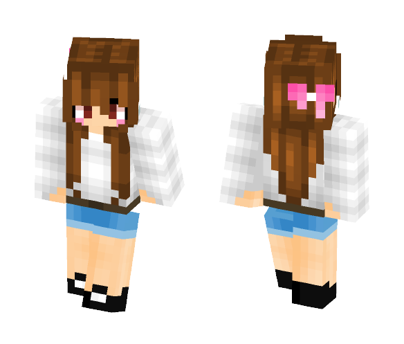 Normal day - Female Minecraft Skins - image 1