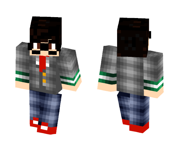 Ruku Karite - Male Minecraft Skins - image 1