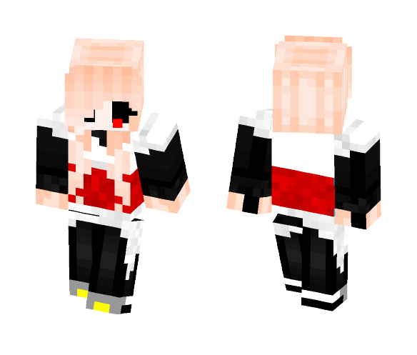 Yin sans ( girl version ) - Girl Minecraft Skins - image 1