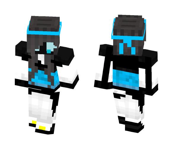 Yang sans ( girl version ) - Girl Minecraft Skins - image 1