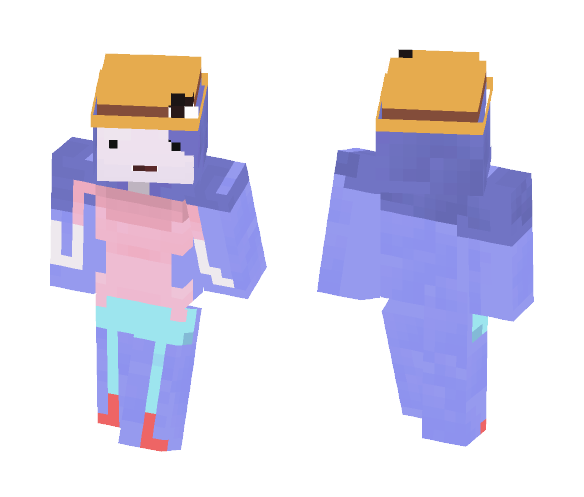 Marshmeline - the Campfire queen - Female Minecraft Skins - image 1