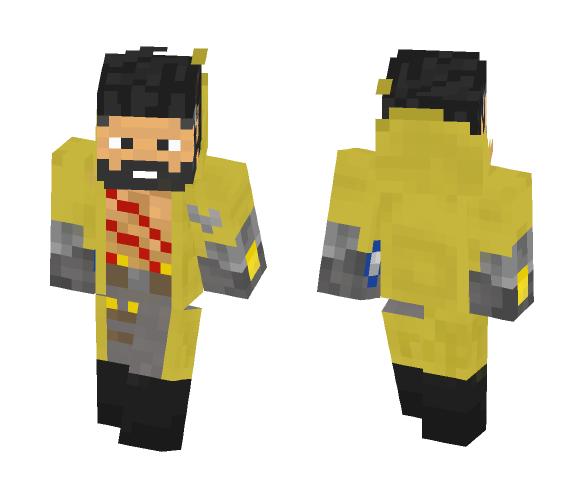 Download Roger Remastered (Mobile Legends) Minecraft Skin for Free