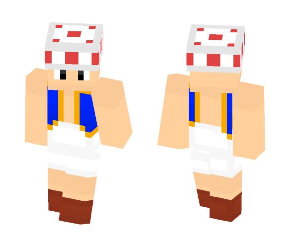 Toad (Super Mario Bros. Series) - Male Minecraft Skins - image 1