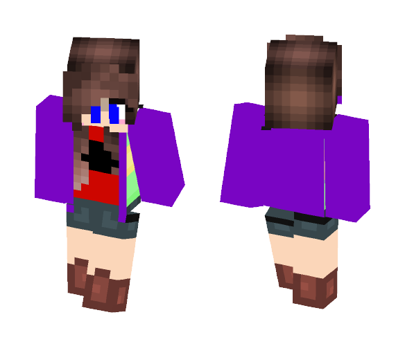 AUtale: chara - Male Minecraft Skins - image 1