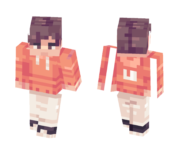 orange - Male Minecraft Skins - image 1