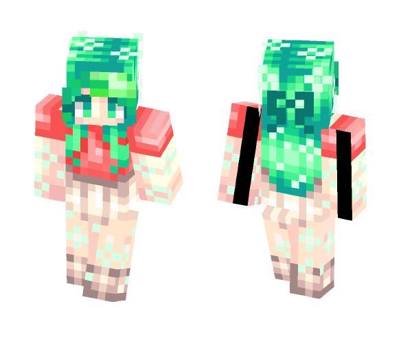Nature girl - Girl Minecraft Skins - image 1