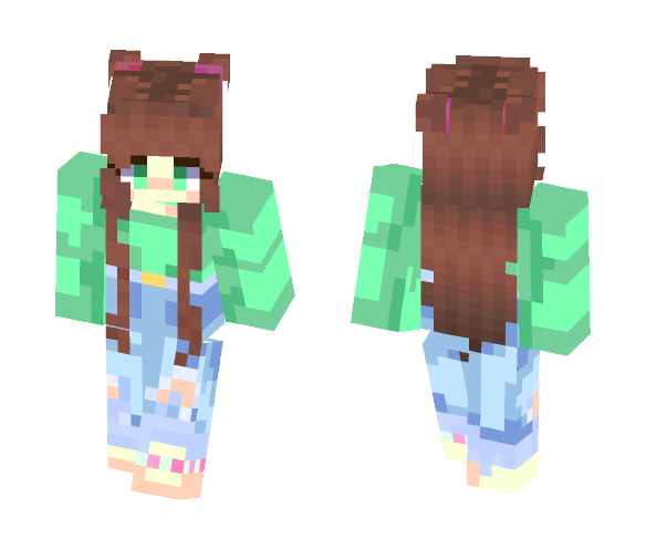 -=+Mint Summer+=- - Female Minecraft Skins - image 1