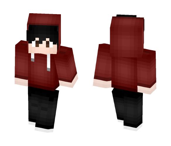 Hoodie Boy - Boy Minecraft Skins - image 1