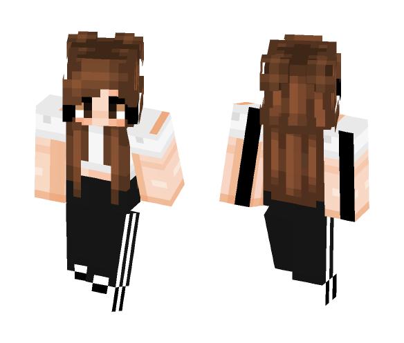Adidas Pants - Female Minecraft Skins - image 1
