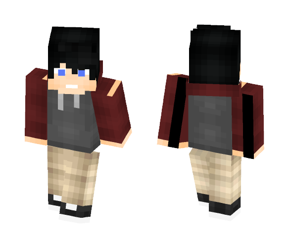 Damian Wayne No suit - Male Minecraft Skins - image 1