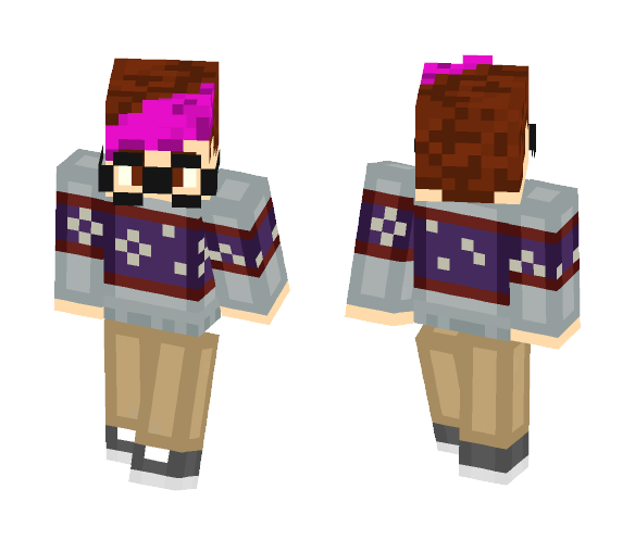 Alex (Oringinal) - Male Minecraft Skins - image 1