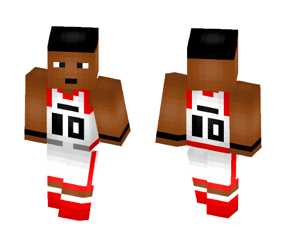 DeMar DeRozan [RAPTORS] - Male Minecraft Skins - image 1