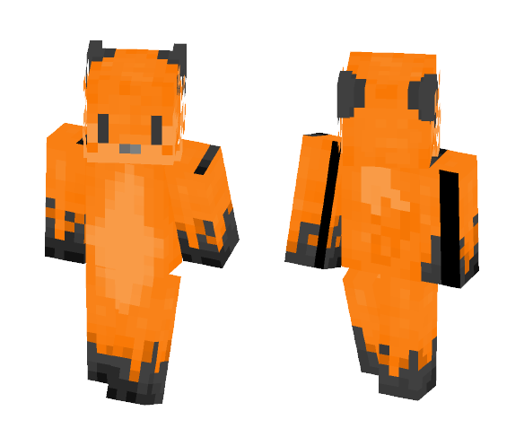 Fox with new 3D layer - Male Minecraft Skins - image 1