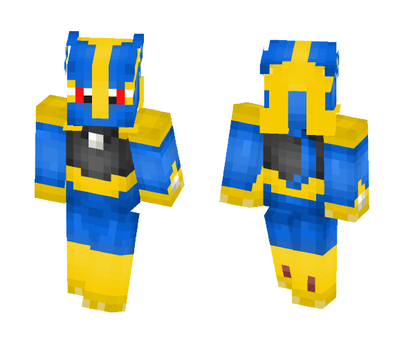 Lucareon - Male Minecraft Skins - image 1