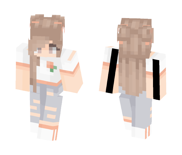 peachy - Female Minecraft Skins - image 1