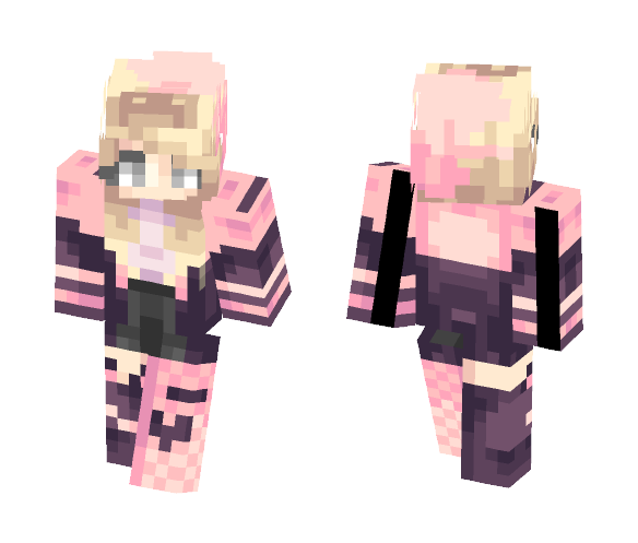 edgy bubblegum - Male Minecraft Skins - image 1
