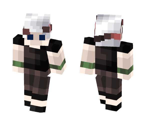 4 bit Black Roses (male) - Male Minecraft Skins - image 1