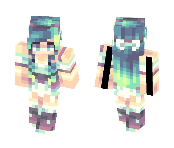 Summer Breeze - Female Minecraft Skins - image 1