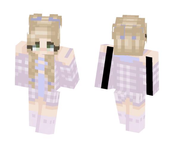 ???? Lavender ???? - Female Minecraft Skins - image 1