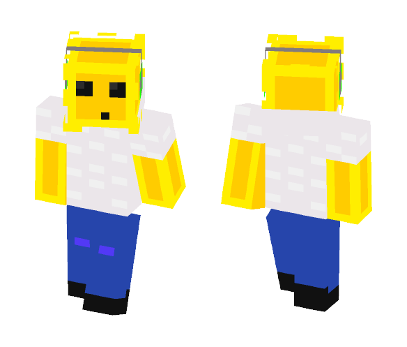 DJ Golden Slime - Interchangeable Minecraft Skins - image 1