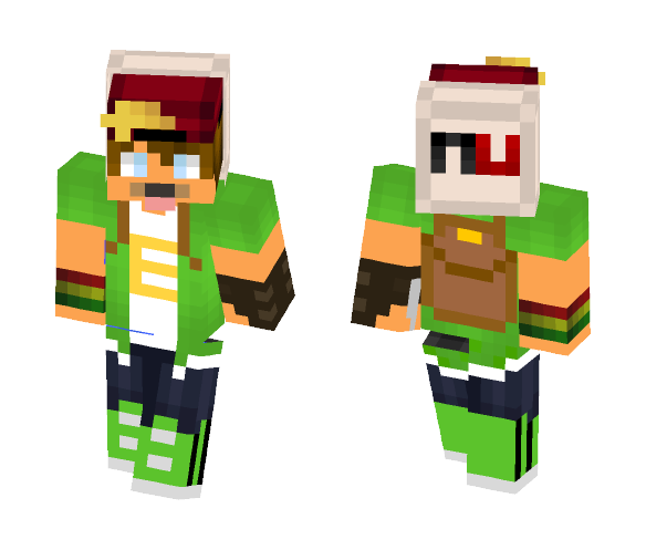 Nutellexo - Male Minecraft Skins - image 1