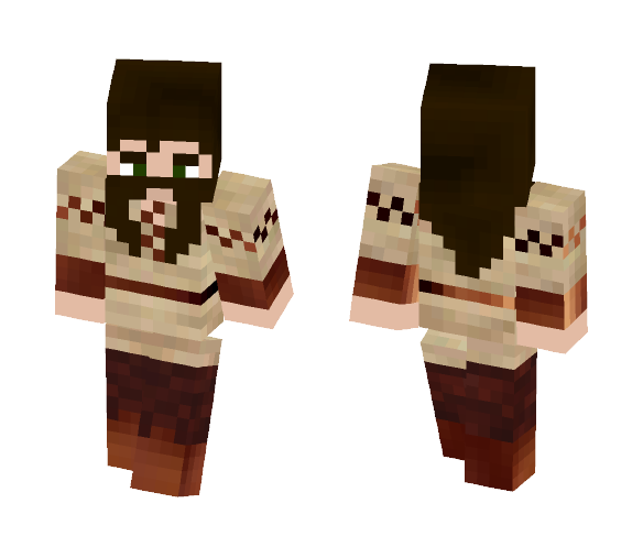 Dwarfen Blacksmith - Male Minecraft Skins - image 1
