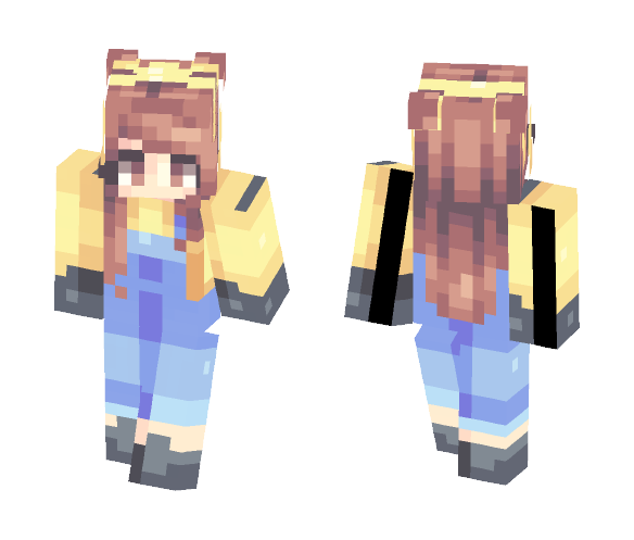 Minion Girl - Girl Minecraft Skins - image 1