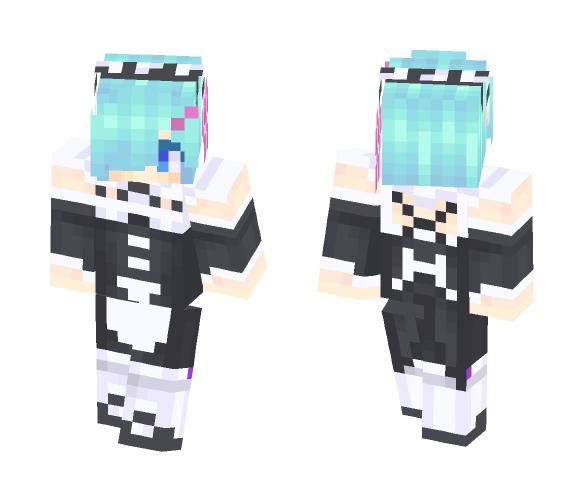 Rem (Re:Zero) - Female Minecraft Skins - image 1