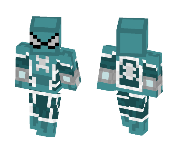 Fear itself Spiderman - Comics Minecraft Skins - image 1