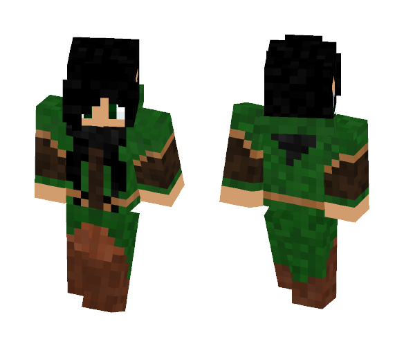 Medieval Fantasy Wood Elf - Female Minecraft Skins - image 1