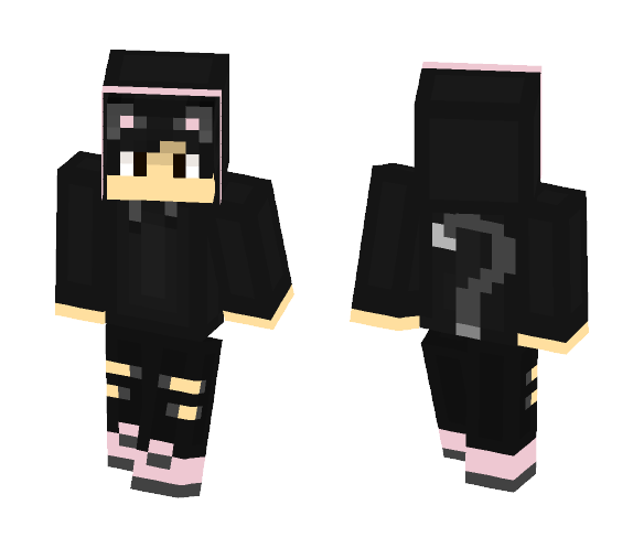 ~ Black Cat Boy ~ - Boy Minecraft Skins - image 1