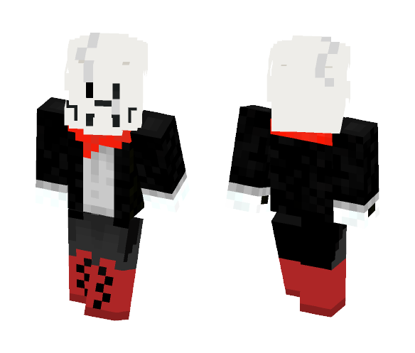 Gaster Papyrus - Male Minecraft Skins - image 1
