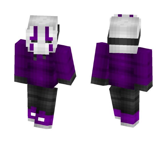 ~Purple masked~ - Interchangeable Minecraft Skins - image 1