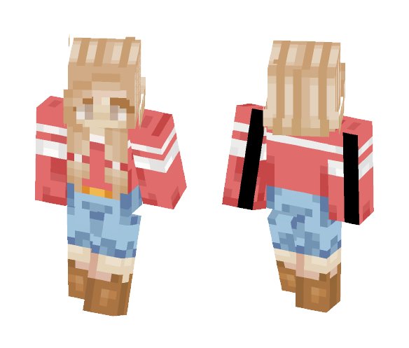 Personal Skin (Alex) - Female Minecraft Skins - image 1