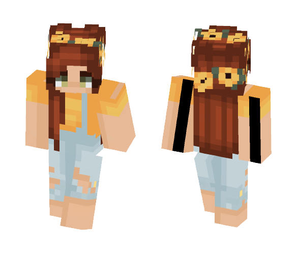 ???? Summer Love ???? - Female Minecraft Skins - image 1